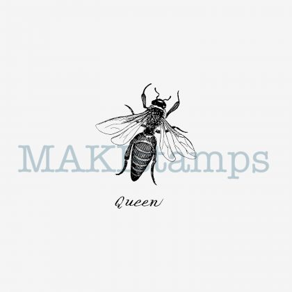 Bee rubber stamp MAKIstamps