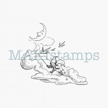 rubber stamp dwarf MAKIstamps