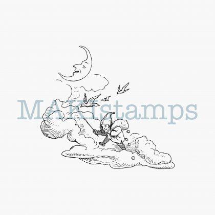 rubber stamp dwarf MAKIstamps