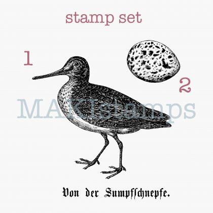 bird rubber stamp MAKIstamps