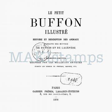 text rubber stamp Le Petit Buffon MAKIstamps
