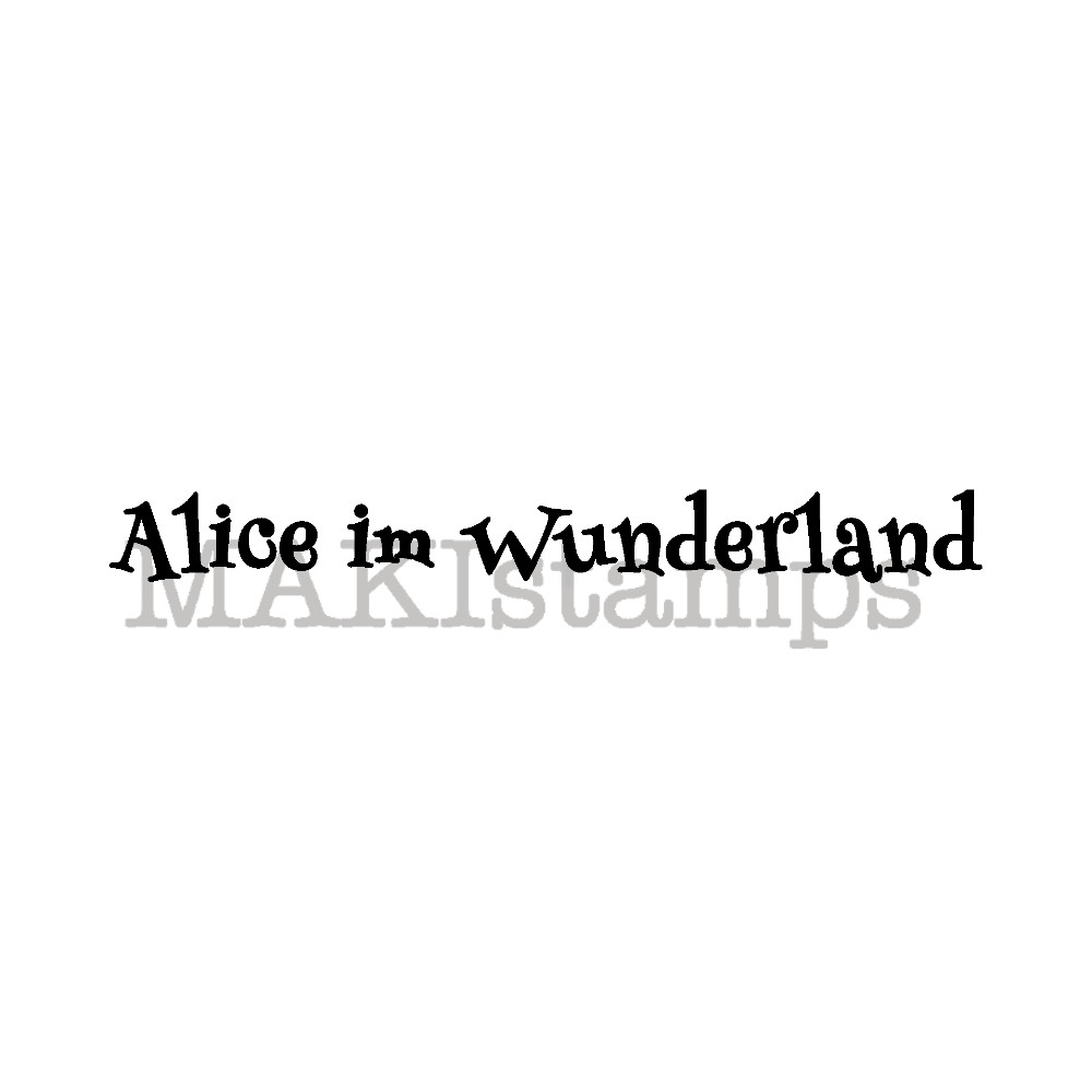 title quote stamp Alice