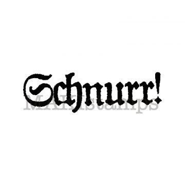 Text stamp Schnurr! makistamps