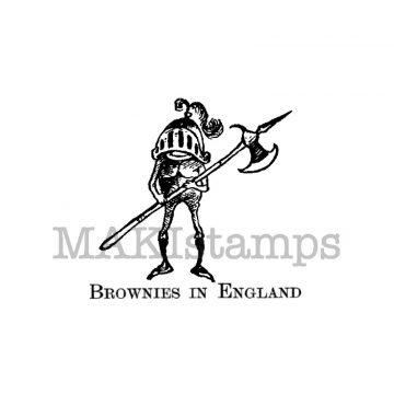 brownie stamp / knight stamp