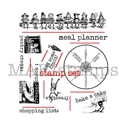cling stamps makistamps