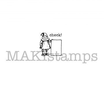 Brownie Planner stamp