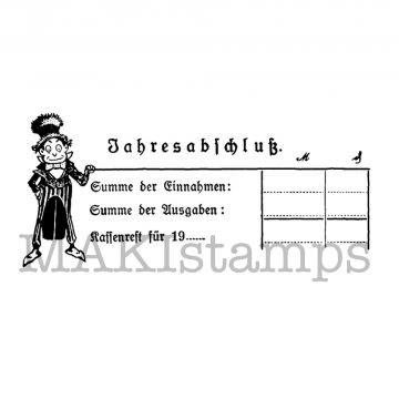 rubber art stamp finances
