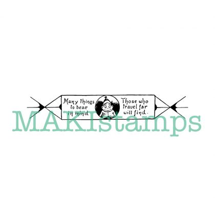 text rubber stamp MAKIstamp