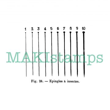 Background stamp needles MAKIstamps