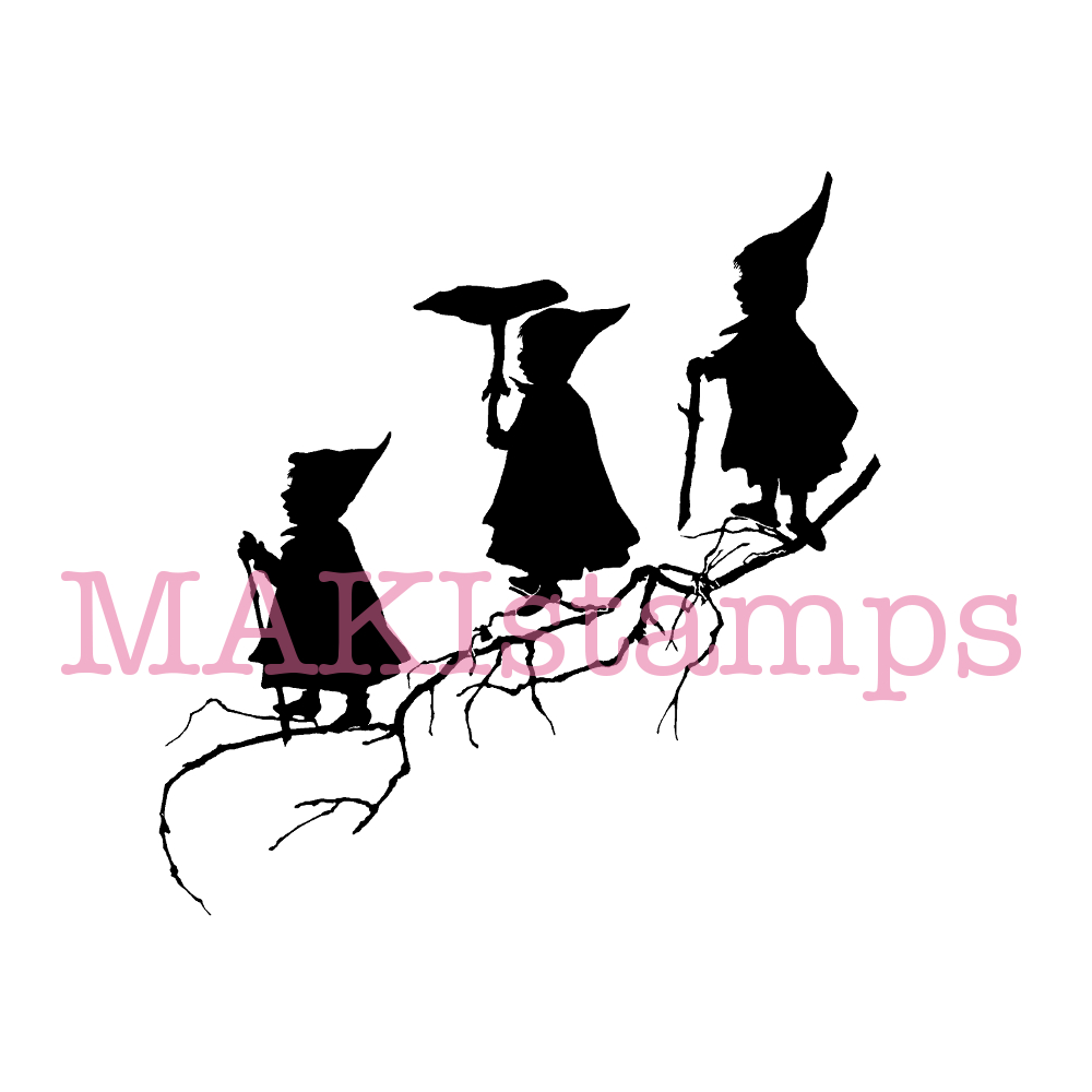 fairy tale stamp MAKIstamps