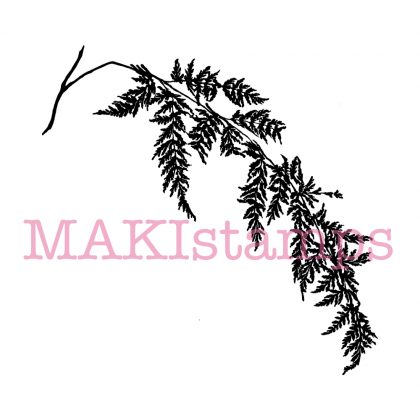 fern rubber stamp MAKIstamps