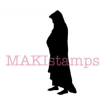 Christmas rubber stamp MAKIstamps