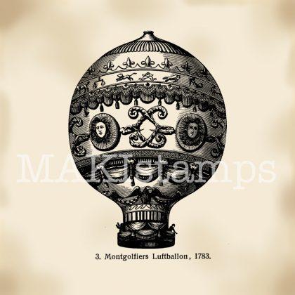 Stempel Fesselballon Stempel