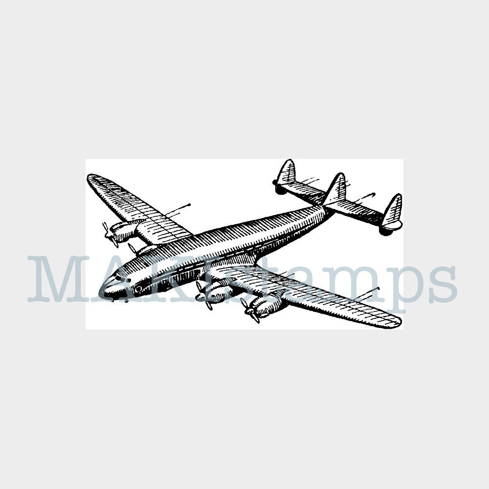 rubber stamp plane