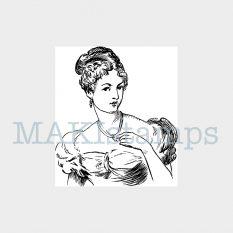 rubber stamp Jane Austen