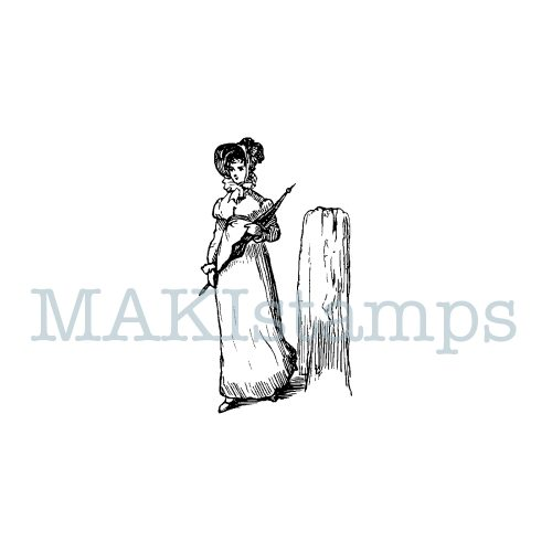 rubber stamps Jane Austen