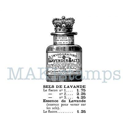 rubber stamp lavender salt MAKIstamps