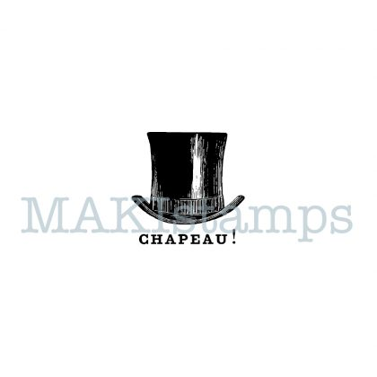 top hat rubber stamps MAKIstamps