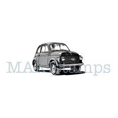 rubber stamp italian car