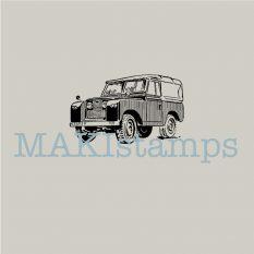 Car stamp Landrover