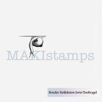 Schnecken Stempel nach Vorlagen von Joris Hoefnagel MAKIstamps Sonderkollektion