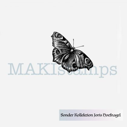 Rubber stamp butterfly MAKIstamps special edition