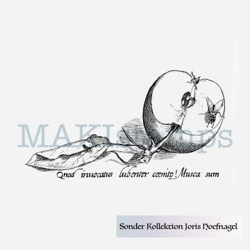 rubber stamp special collection Joris Hoefnagel MAKIstamps