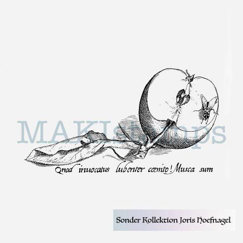 rubber stamp special collection Joris Hoefnagel MAKIstamps