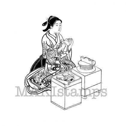 Stempel Geisha